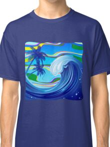 Sea Ocean big Wave Water  Classic T-Shirt