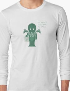Monster Issues - Cthulhu Long Sleeve T-Shirt