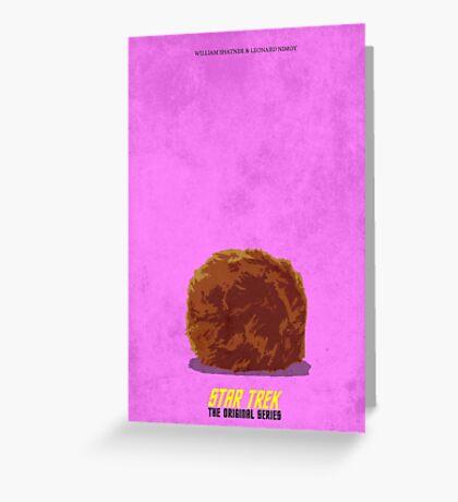Star Trek - The Original Series (Tribble) Greeting Card