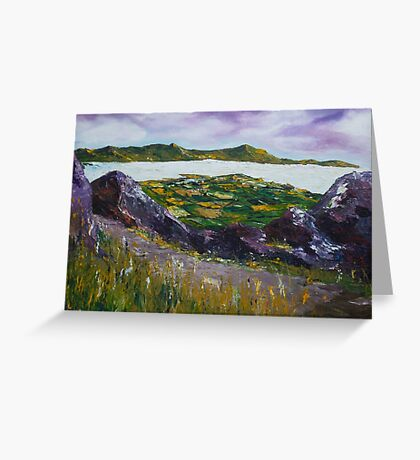 The Coastal path to Dingle Greeting Card