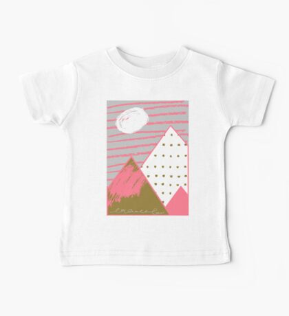 mountains Baby Tee