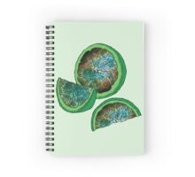 Whoa - Galaxy Lime! Spiral Notebook