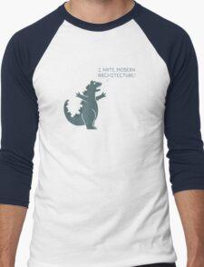 Monster Issues - Kaiju  Men's Baseball ¾ T-Shirt