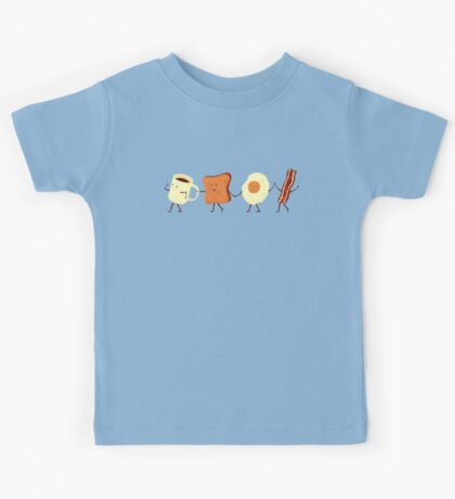 Let's All Go And Have Breakfast Kids Tee