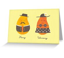 Fruit Genders Greeting Card