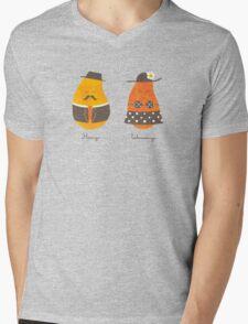 Fruit Genders Mens V-Neck T-Shirt