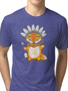 Indian fox Tri-blend T-Shirt