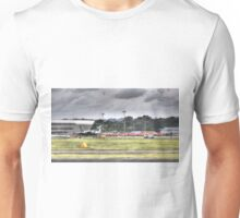 Avro Vulcan XH558 and The Red Arrows Unisex T-Shirt