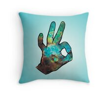 Space-Okay Throw Pillow