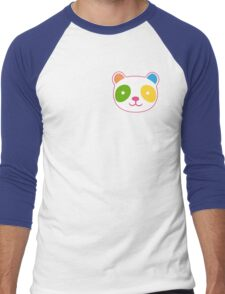 Cute Rainbow Panda Men's Baseball ¾ T-Shirt