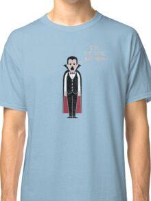 Monster Issues - Dracula Classic T-Shirt