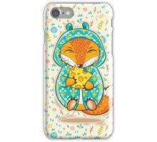 Happy fox iPhone Case/Skin