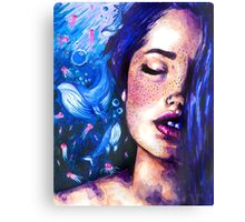 Music of the ocean Canvas Print