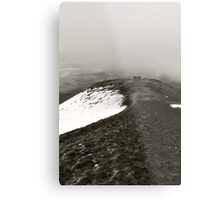 Looking Back on Cotopaxi Metal Print