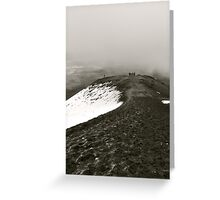 Looking Back on Cotopaxi Greeting Card
