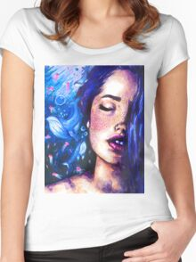 Music of the ocean Women's Fitted Scoop T-Shirt