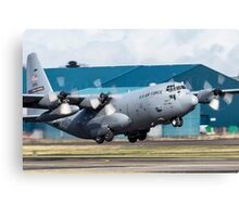 Lockheed Martin C-130 H Hercules Taking Off Canvas Print