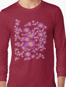 Daisy - Pink and Yellow Long Sleeve T-Shirt