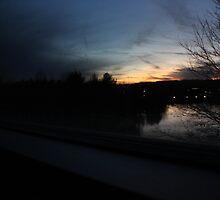 Dusk Over Waters by bizarreXpress