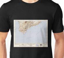 USGS TOPO Map Hawaii HI Hawaii South 349922 1954 250000 Unisex T-Shirt