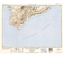 USGS TOPO Map Hawaii HI Hawaii South 349922 1954 250000 Photographic Print