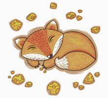 Sleeping fox Baby Tee