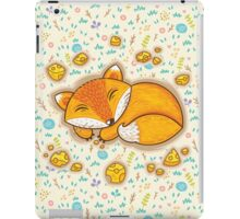 Sleeping fox iPad Case/Skin