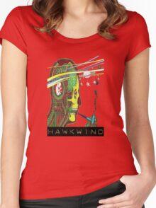 Hawkwind Merry Go Head Women's Fitted Scoop T-Shirt