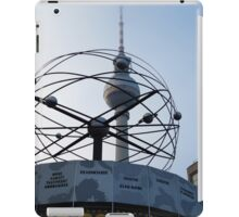Berlin, World Time Clock with TV Tower iPad Case/Skin