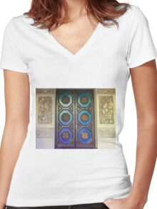 Uncommon Designs Women's Fitted V-Neck T-Shirt