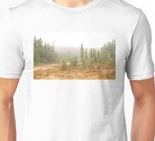 Fog in Algonquin Park, Canada Unisex T-Shirt