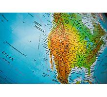 USA map Photographic Print