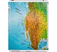 USA map iPad Case/Skin