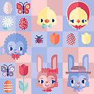 Happy Easter! Pattern by chobopop