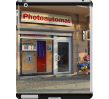 Old photo booth in Berlin, Germany iPad Case/Skin