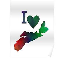 I Love Nova Scotia Poster