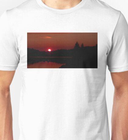 Sunset on Algonquin Park Unisex T-Shirt