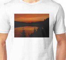 Sunset on Brewer Lake, Algonquin Park Unisex T-Shirt