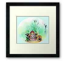 Bo Peep and her sheep momiji Framed Print