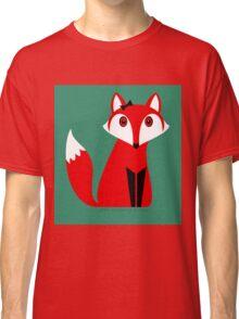 FOX WITH HAIR BOW Classic T-Shirt