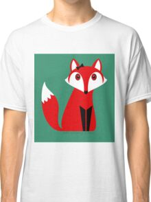 FOX WITH HAIR BOW Classic T-Shirt