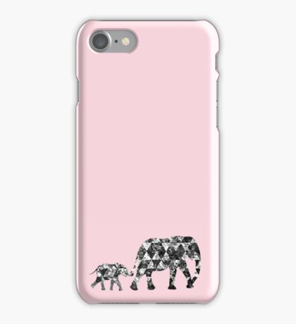 Patchwork Elephant iPhone Case/Skin