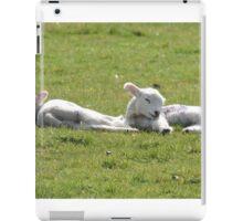It's Tiring Being A Cute Lamb iPad Case/Skin