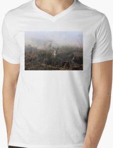 The rut is on! - White-tailed deer  Mens V-Neck T-Shirt