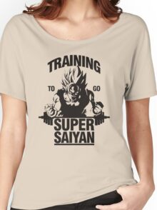 traning to go super saiyan Women's Relaxed Fit T-Shirt