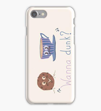 Wanna dunk? iPhone Case/Skin