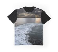 Roiling Curve Graphic T-Shirt