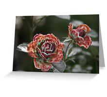 Furry Roses Greeting Card