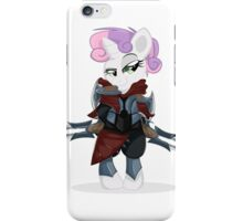 Zed, master of shadows My little Pony iPhone Case/Skin