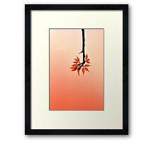 Drop-down Menu Framed Print
